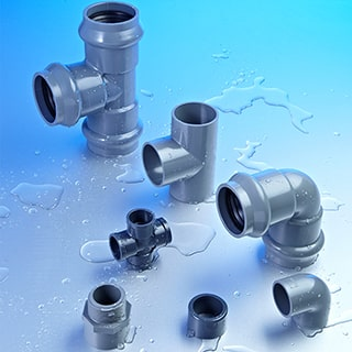 UPVC CPVC HDPE PPR PPH Pipe Fittings|TU-PIPE